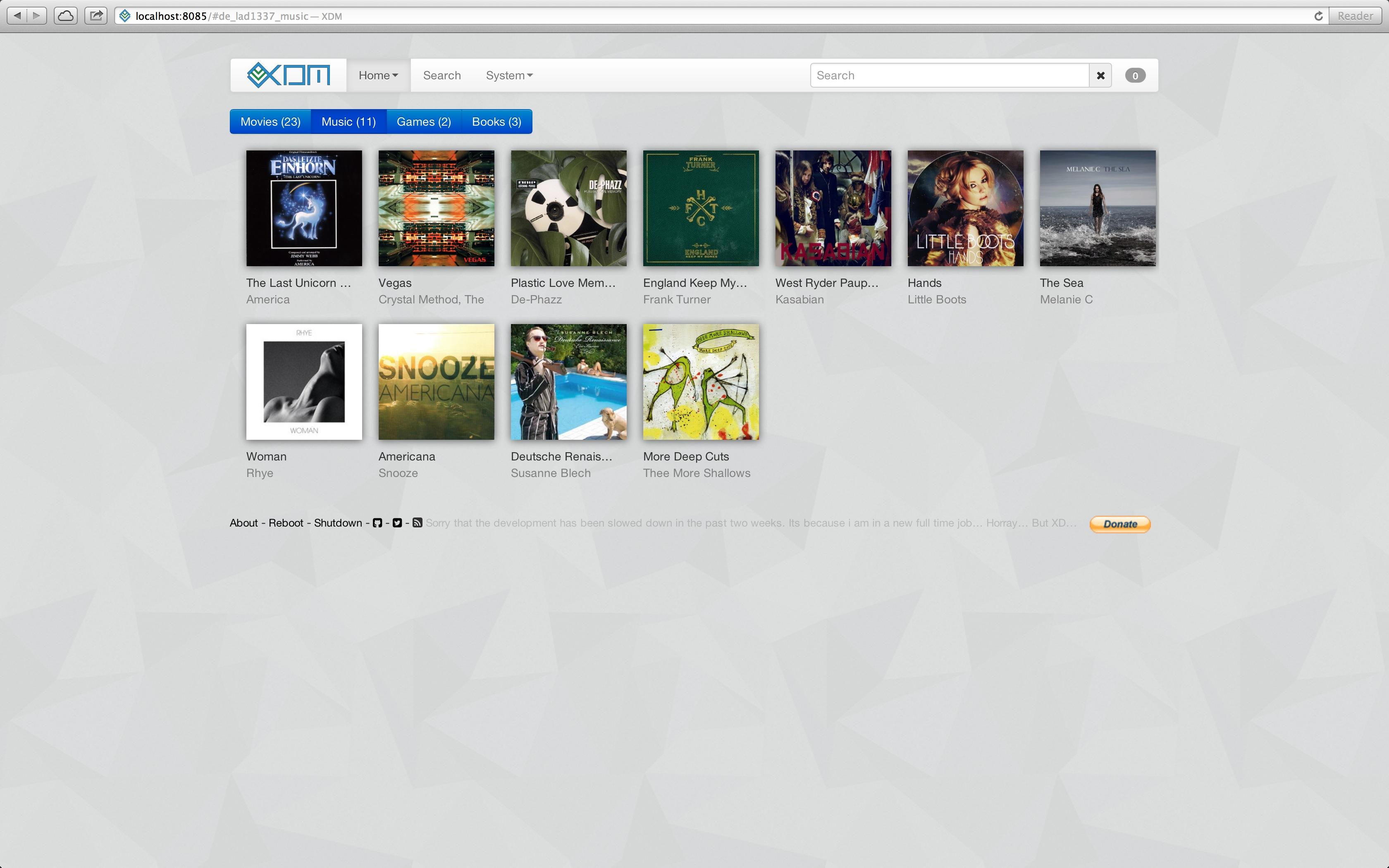 Music plugin