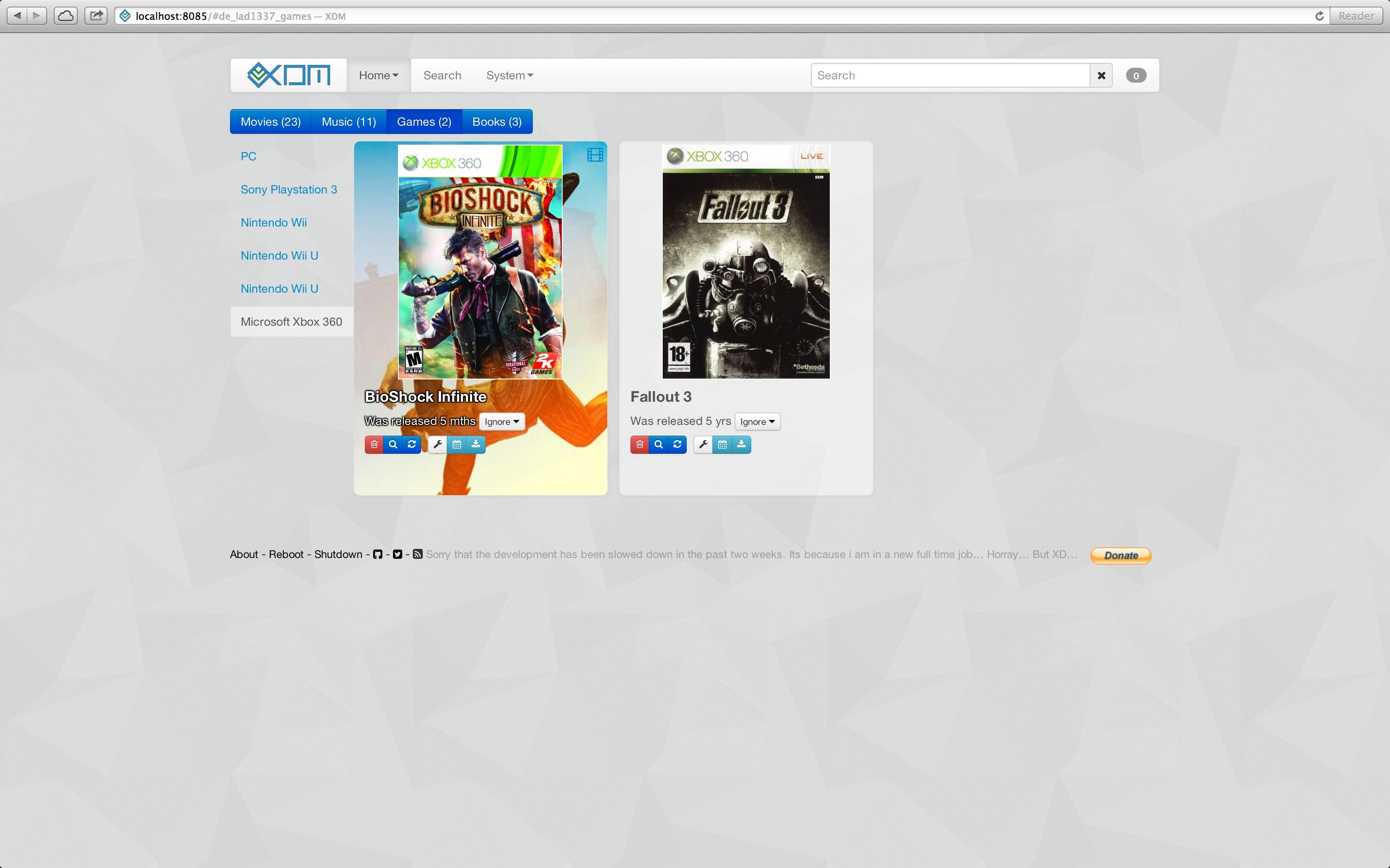 Games plugin