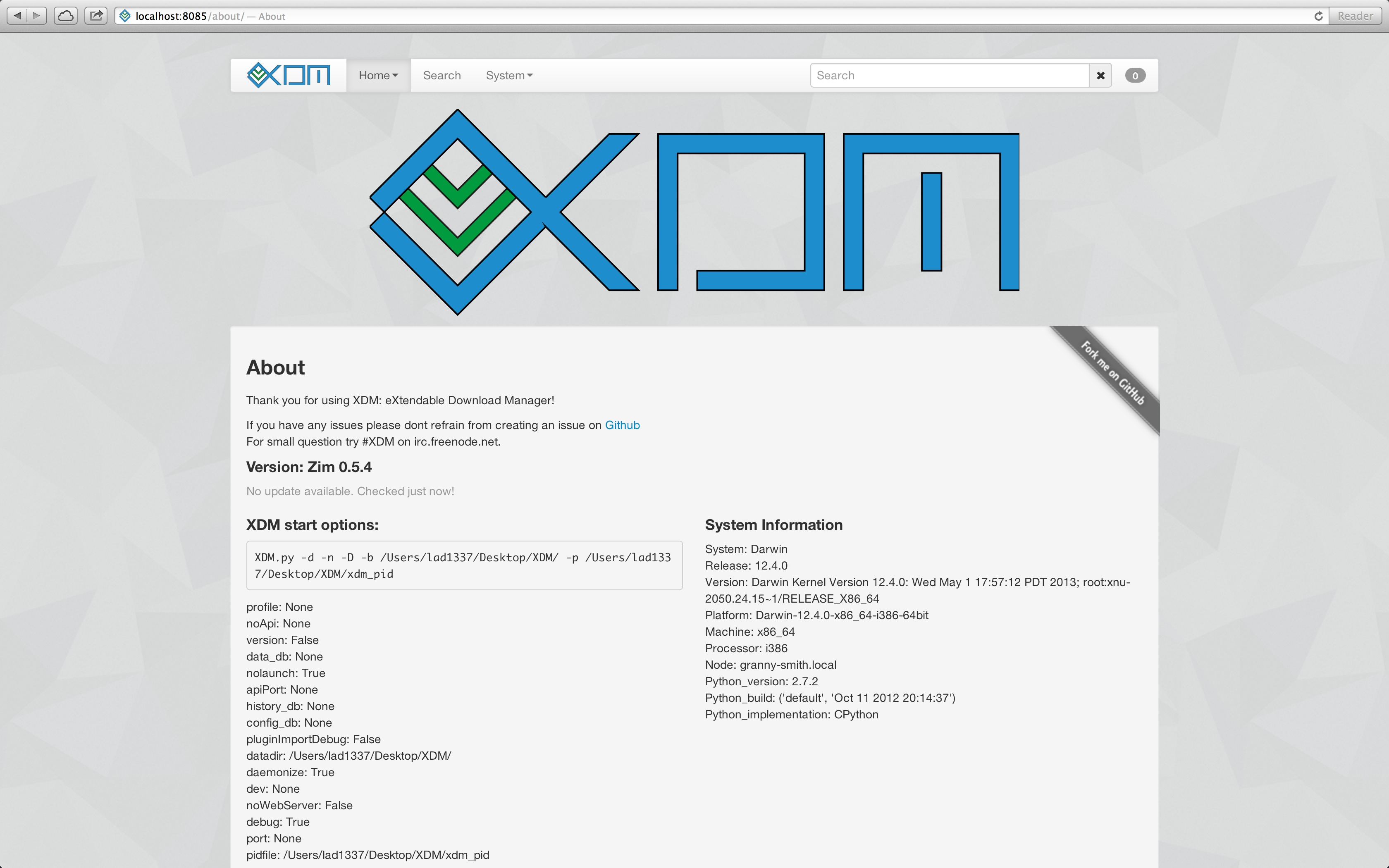 XDM: eXtendable Download Manager | Plugin based media